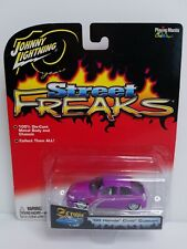 Rare Johnny Lightning Street Freaks 00 Honda Civic Custom White Lightning Chase