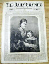 1873 NY Daily Graphic newspaper w article supporting HIGHER EDUCATION for WOMEN