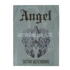 Tattoo Sketch Reference Book Instruction Sheet Flash Art Design Angel Supply
