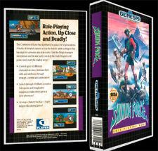 Shining Force - Sega Genesis Reproduction Art Case/Box No Game.