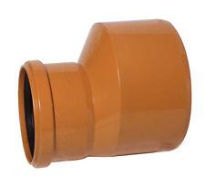 Tubo de drenaje subterráneo Accesorios nivel invertir acoplamiento reducido 110 X 160 mm