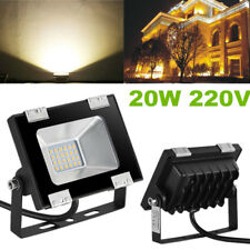 20W LED SMD Flood Light Outdoor House Garden Landscape Wall Spot Lamp Warm White