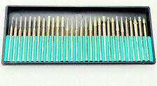 Handwerkzeuge Werkzeuge 6 Stücke Kit Carving Praktische Dreh Werkzeuge Multifunktionale Cutter Hss Silber Bohrer Set Routing Router Schleifen Fräsen Die Neueste Mode