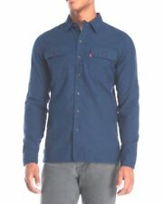 Levi's Solid Button-Front Casual Shirts for Men