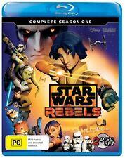 Star Wars Rebels : Season 1 (Blu-ray, 2015, 2-Disc Set)