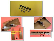 FORD FALCON XW XY GT PLASTIC SPACER & SPEED NUT UNDER DASH PARTS SIDE-TRIM KIT