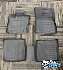 17 thru 19 Lincoln Continental OEM Molded Tray Liner Style Floor Mat Set 4-pc