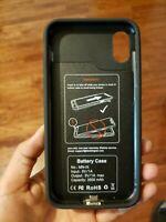 Destek Apple Smart Battery Case for iPhone Xs Max - Black