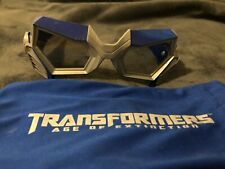 Transformers Age of Distinction Exclusive 3D Movie Glasses and Drawstring Case