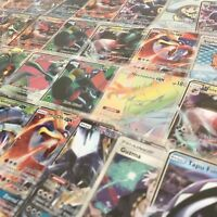 POKEMON 1 RANDOM ULTRA RARE CARD GUARANTEED GX, MEGA EX, BREAK OR FULL ART (LOT)
