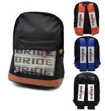 NEW JDM BAG BACKPACK BRIDE WITH Bride HARNESS DRIFT RACE TRACK
