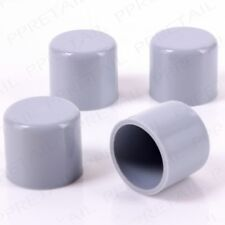 Fast Post 4 X 22mm Grey Chair/table Ferrule Furniture Feet Ends Caps Protector