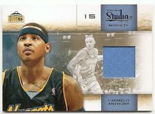 09/10 STUDIO MATERIALS JERSEY #5 Carmelo Anthony #15/249 JERSEY #