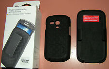 Shell/Holster Combo case with Kickstand Samsung Galaxy S III Mini, Bla