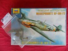 1:48 ZVEZDA 4802 Messerschmitt Bf109F-2 + VECTOR Correction Set