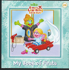 SESAME STREET Elmo's Learning Adventure {My Book of Firsts} #26 LN