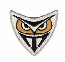 Blade Runner Tyrell Genetic Replicants Owl Die Cut Logo Patch, NEW Iron on