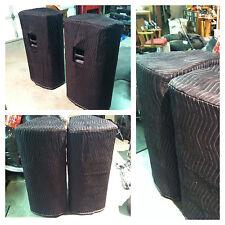 JBL PRX 725 PRX-725 Premium Padded Black Speaker COVERS (2)  Qty of 1 = 1 Pair!