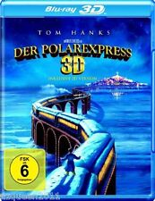 Der Polarexpress (inkl. 2D-Version) [3D Blu-ray] Tom Hanks * NEU & OVP *