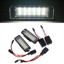 12V LED Number License Plate Light for VW GOLF 4 5 6 7 Polo 6R Passat New