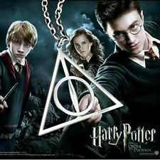 COLLANA CATENA HARRY POTTER I DONI DELLA MORTE - Necklace HP Deathly Hallows