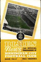 31.10.1956 Birmingham City - Borussia Dortmund