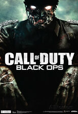 Call Of Duty Black Ops Zombie Video Game Poster Poster Print, 13x19