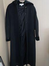 Albert Nipon Long Coat 100% Wool Woman's Size 4