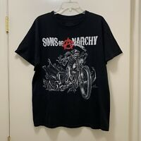 Sons Of Anarchy Size Large Mens T- Shirt Road Gear