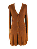 L'Agence Women's Spice Millie Long Sleeve Long Cardigan Sweater Size Medium NEW