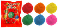 6 Bouncing Putty Bags - Pinata Toy Loot/Party Bag Fillers Wedding/Kids