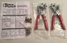 NEW Roto Punch Complete Home Mending Solution Multifunction Belt Hole Puncher