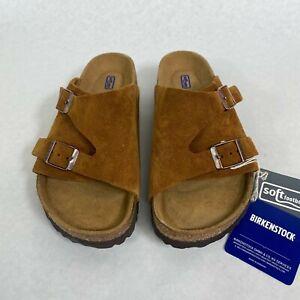 New w/o Box Birkenstock Zurich Mink Soft Footbed Narrow - Select Size