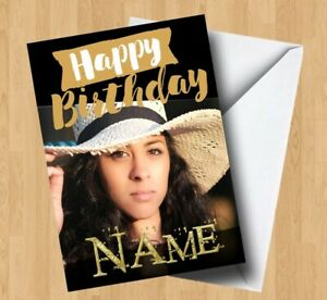 Personalised Own Photo/Picture (Son/Daughter/Grandson/Mum/Dad) Birthday Card