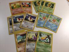 Pokemon - Shadowless Base Lot - Good
