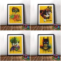 Lego Batman Movie Poster Print Joker Harley Quinn Penguin (VARIOUS DESIGNS)