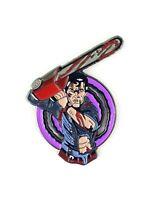 Evil Dead Enamel Pin - Ash Enamel Pin Army Of Darkness Pin Horror Pin Gothic Pin
