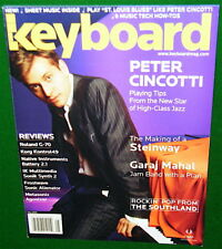 Peter Cincotti Playing Tips, Roland G-70 Review, 2005 Keyboard Magazine