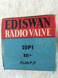 Ediswan(Mazda) 20P1 Television Valve, New Old Stock, Tested.
