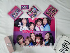 "TWICE JAPAN 1st Single ""ONE MORE TIME"" A+B+C Ver w/ a photocard & 2 posters - US"