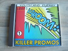 CD library production soundtrack tv KILLER PROMOS 1Youth And Energy CHUCK KENTIS