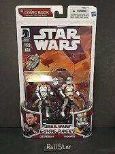 Star Wars Comic 2-Packs #10 Clone Lieutenant & Clone Trooper (Routine Valor) MIB
