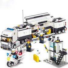 Police Station Building Blocks Set Model 511pcs Enlighten Educational DIY Toys