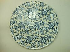 Johnson Brothers Bros Victorian England Chintz 12 Inch Round Platter Blue