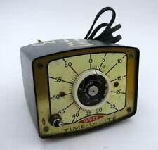 Time-O-Lite timer  GR-72. Repeating enlarger timer.