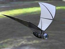 Bat Inspired Solar Powered Spy Plane Desktop Wood Model Big