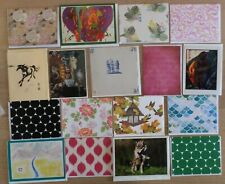 40 Greeting Note Cards & Envelopes, All Different, Blank Inside, Nice selection