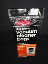 Eureka Canister Vacuum Bags, Style H 6 Bags with 2 filters by Rubbermaid