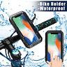 IPX8 Waterproof Case Underwater Motorcycle Bicycle Bike Handlebar Phone Holder