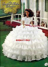 Barbie Crochet Scarlett O'Hara Ruffles Prayer Tara dress Gone With the Wind Htf
